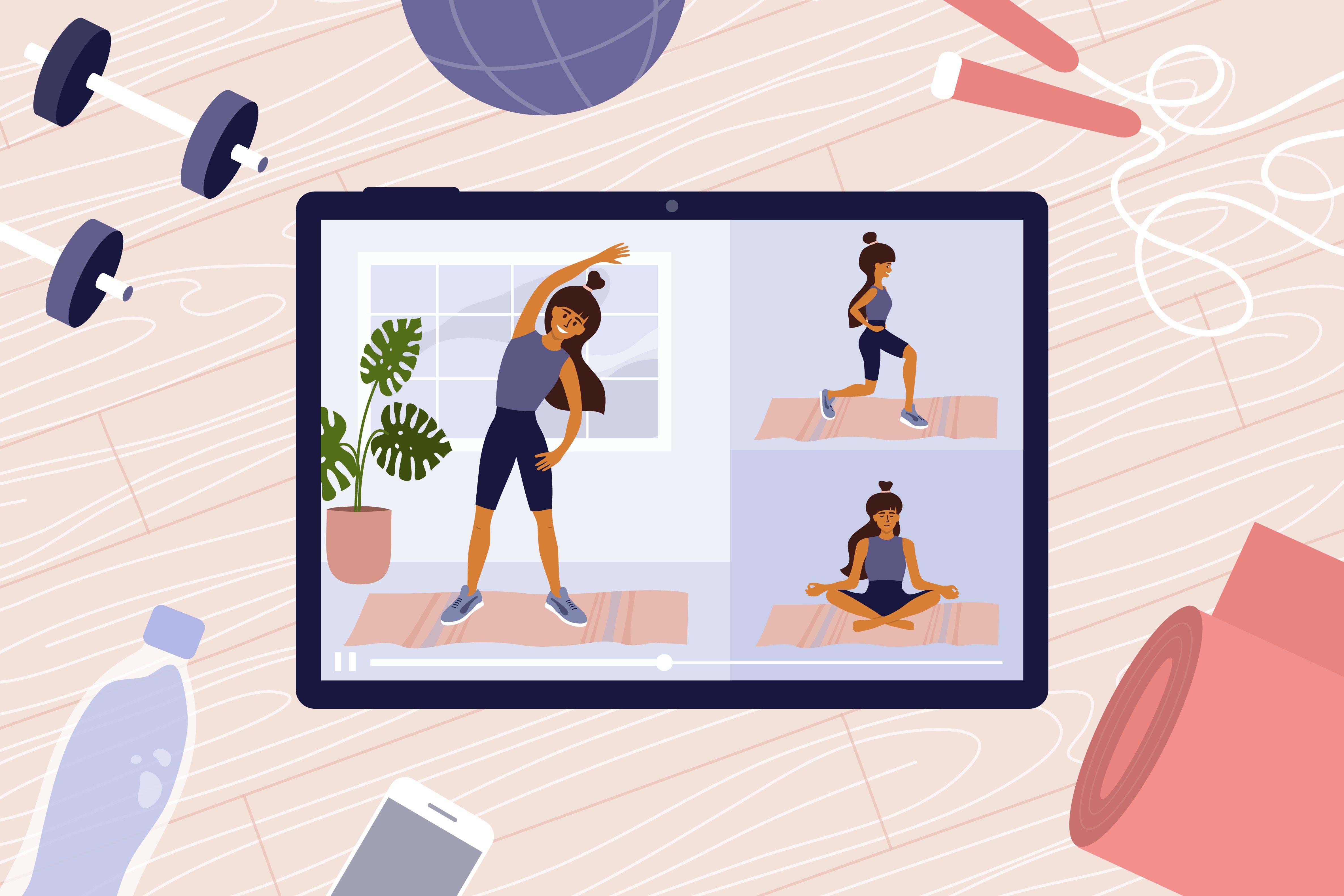 Teach Online Yoga Class