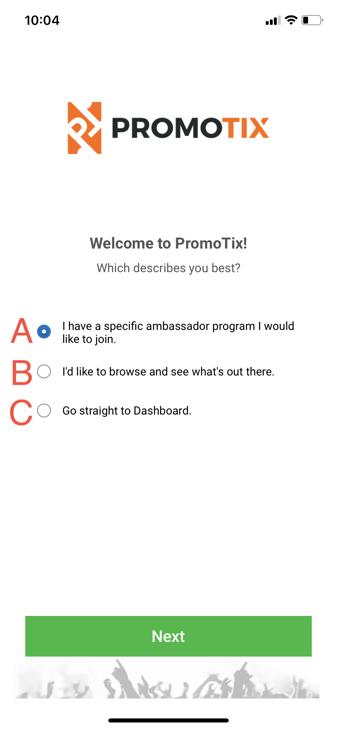 Ambassor Program Describe yourself