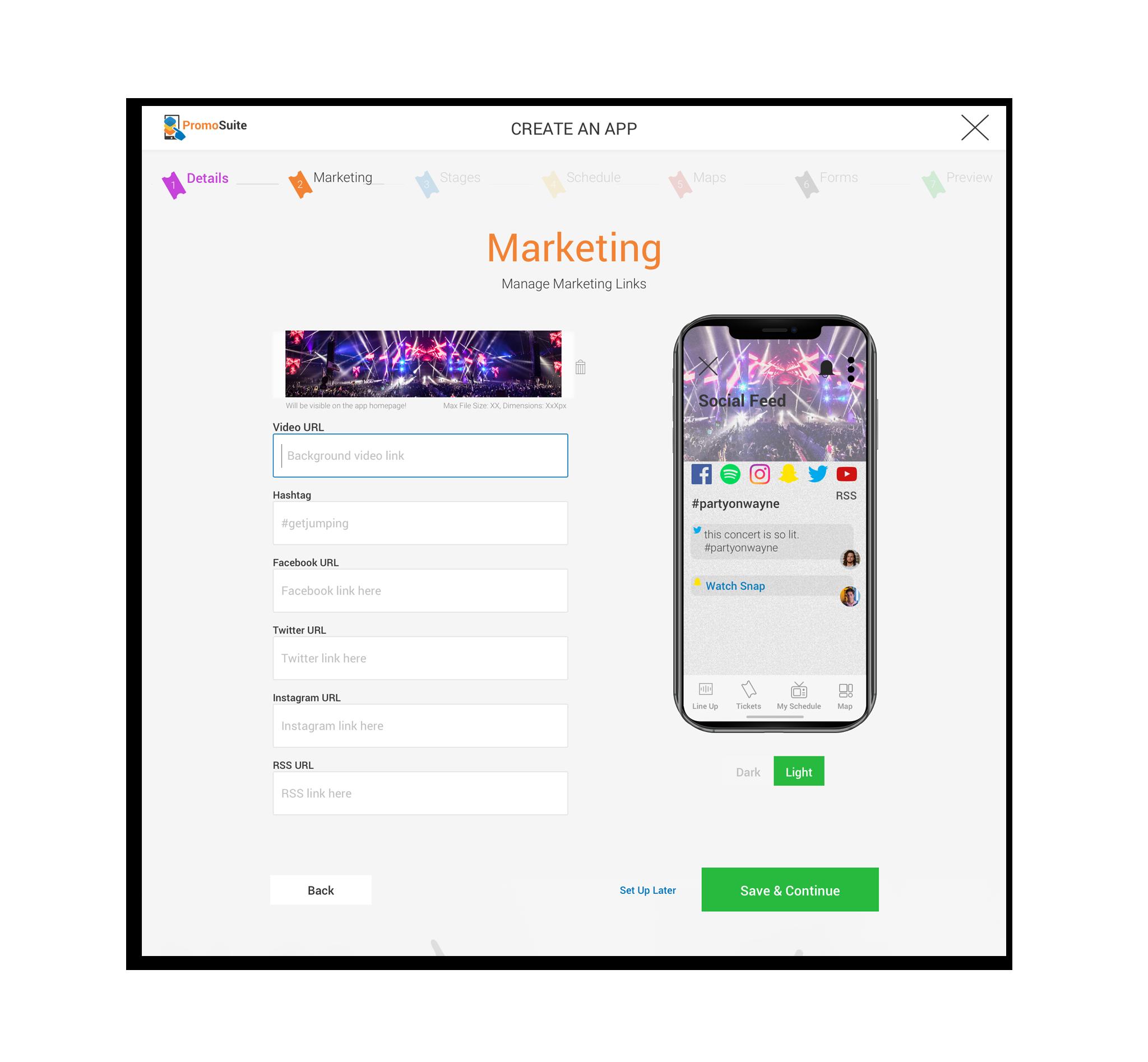 Custom Event Mobile Apps