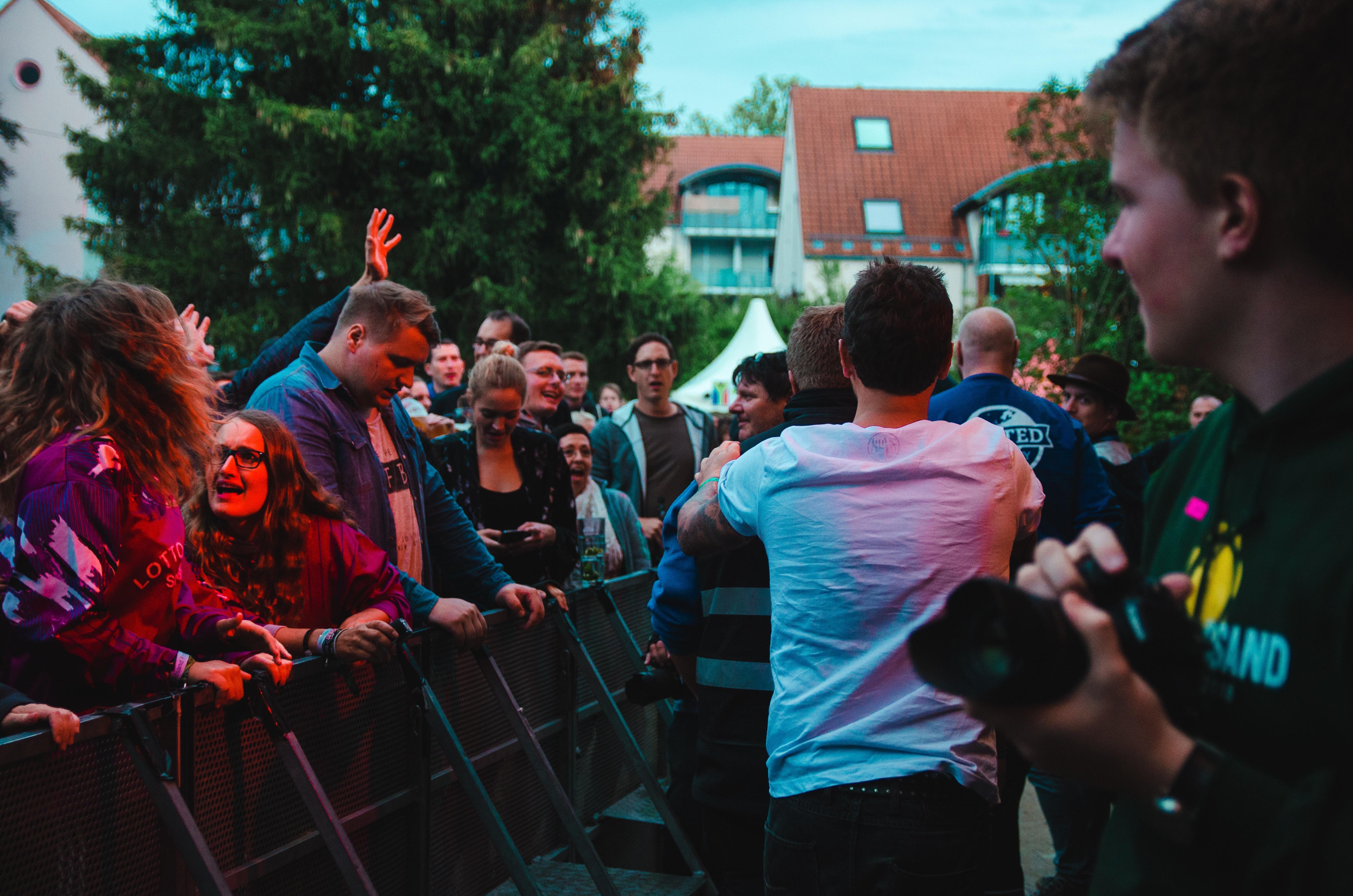 outdoor concert security